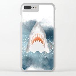 Da-Dum... Da-Dum... Clear iPhone Case