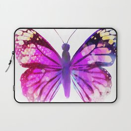 Pink Butterfly Laptop Sleeve