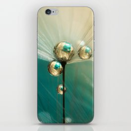 Dandy with Drops of Gold and Jade iPhone Skin