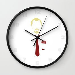 You've Got Red On You - Variant Wall Clock