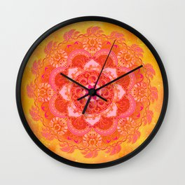 Sun Bliss Wall Clock
