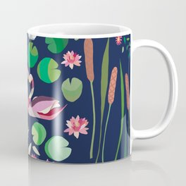 Pond Affair in color Coffee Mug