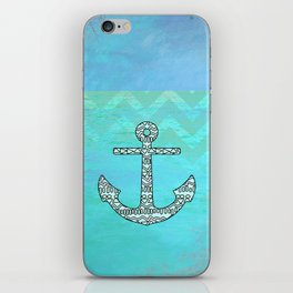 Tribal Anchor iPhone Skin