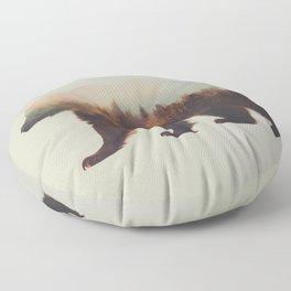 Norwegian Woods: The Brown Bear Floor Pillow