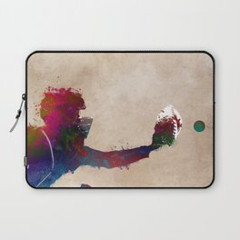 Baseball player 4 #baseball #sport Laptop Sleeve