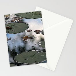 Lily Pads at the Arboretum Stationery Cards