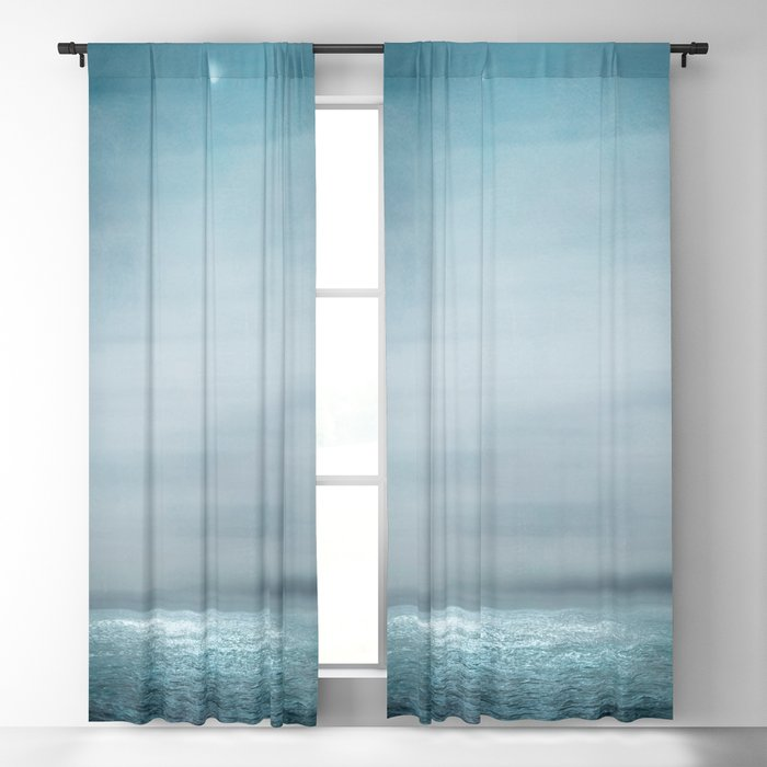 Sea Under Moonlight Blackout Curtain