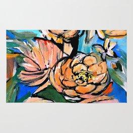 Vibrant Floral Rug
