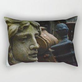 Get Off My Lawn Rectangular Pillow