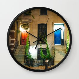 New York City - Night Wall Clock