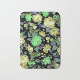 july roses & butterflies Bath Mat