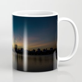 Central Park Sunset Coffee Mug