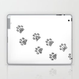 Cat tracks Laptop & iPad Skin
