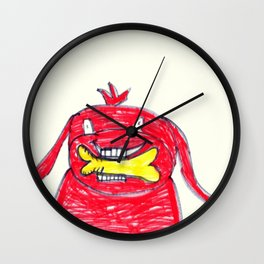 Clifford the Big Red Dog Wall Clock