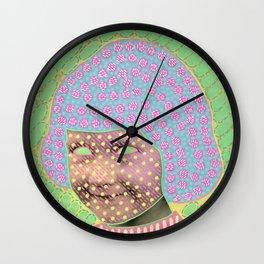 Miss B. Wall Clock
