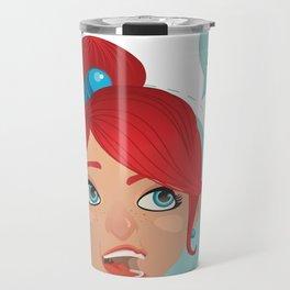 redhead bla Travel Mug