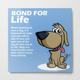 Doggy Tip 1 Metal Print