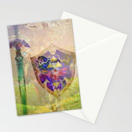 Ocarina of time composition Stationery Cards