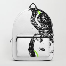 Art Headphones Backpack