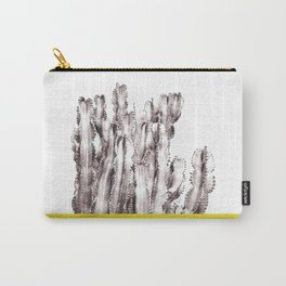 Minimal Succulent Cactus Carry-All Pouch