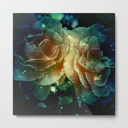 Wonderful roses  Metal Print
