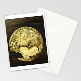 Universal Love from Pluto Stationery Cards