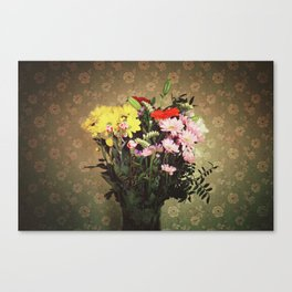 Flowers for her Canvas Print