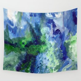 Blue-Green / Azul-Verde Wall Tapestry