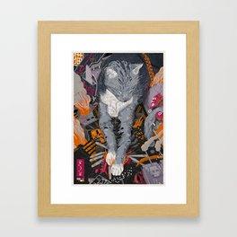 It's a catastrophe.. Framed Art Print