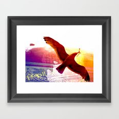 City Birds 01 Framed Art Print
