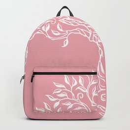 Tree of Life Pink Backpack