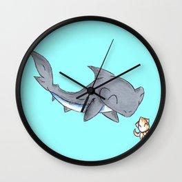 Squid Friend Wall Clock