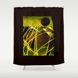 Lazing In The Corn Shower Curtain
