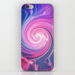 Abstract swirl iPhone Skin