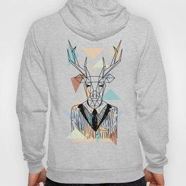 Geometric Deer Hoody