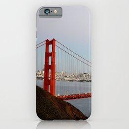 GOLDEN GATE BRIDGE - TWILIGHT - CALIFORNIA iPhone Case