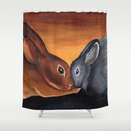 Bonded Shower Curtain