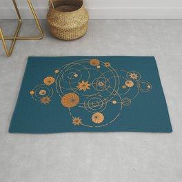 Lotus pool geometry Rug