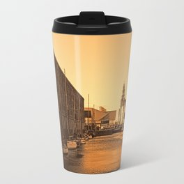 Albert Dock And the 3 Graces Travel Mug