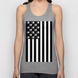US MiniFigure Flag - Vertical Unisex Tank Top