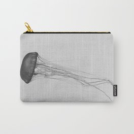 Black & White Jellyfish Carry-All Pouch