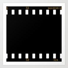 CUSHION OR PILLOW - FILM Art Print