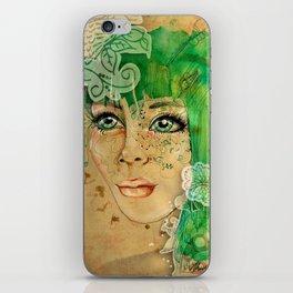 Green Eyes iPhone Skin