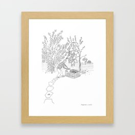 beegarden.works 001 Framed Art Print