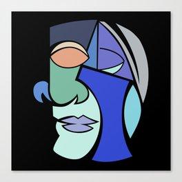 The Face 2 Canvas Print