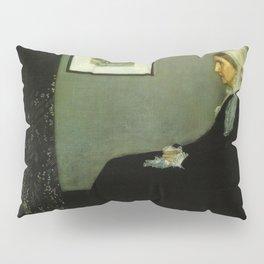 WHISTLERS MOTHER - JAMES ABBOTT MCNEILL WHISTLER Pillow Sham
