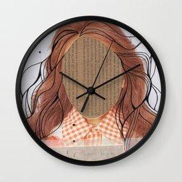 debo ser yo mismo Wall Clock