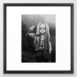 Gates of Neverland Framed Art Print