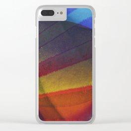 Scrambled egg Clear iPhone Case