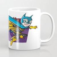 batgirl Mugs featuring Batgirl! by neicosta